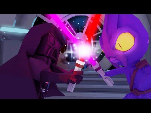 Minecraft Villains - STAR WARS: Lightsaber Battle with Darth Vader! (Minecraft Roleplay)