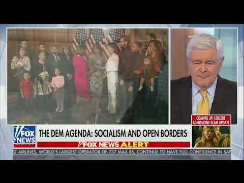 Newt Gingrich: AOC's Views 'Based on Whatever Random Thought' Comes in That Morning