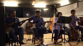 Don't look back in anger cover by marpior band