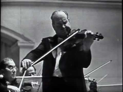 David Oistrakh, G Rozhdestvensky, MRSO - Jean Sibelius Violin Concerto