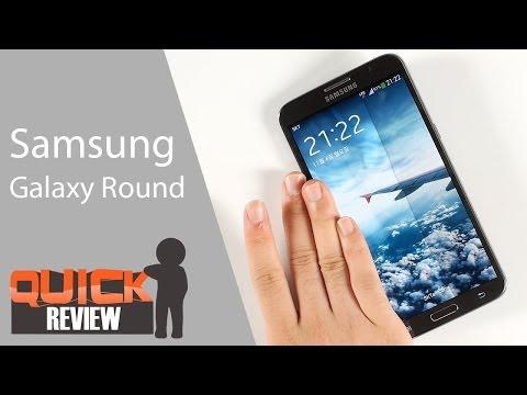 [EN] Samsung Galaxy Round Quick Review