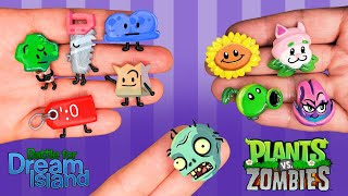 BATTLE FOR DREAM ISLAND PART 6 & PLANTS VS ZOMBIES! Polymer Clay Tutorial