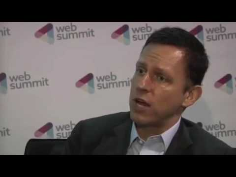 Peter Thiel  - We Must Fight Aging [2014] Web Summit