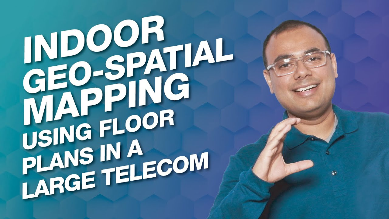 Indoor Geo-spatial Mapping using Floor Plans in a Large Telecom