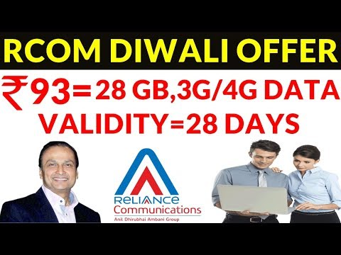 Reliance Communication offers 28 GB 4G data at Rs 93 for 28 days