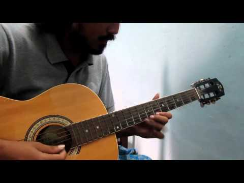 thendral vandhu - tamil song on guitar - classical carnatic based song on acoustic