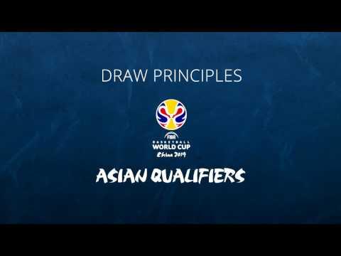 FIBA Basketball World Cup 2019 - Asian Qualifiers - Draw Principles
