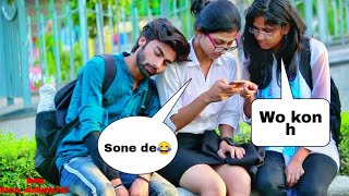 Prank on cute girls #5! prank in india 2019!