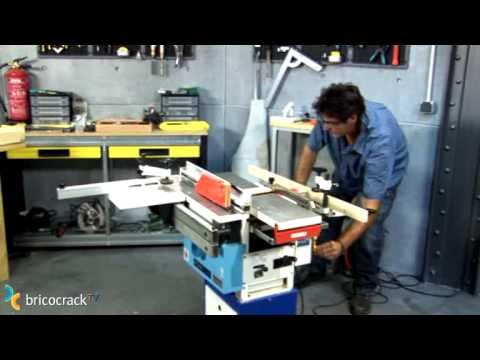 Máquinas Estacionarias Para Madera Bricocrack Youtube