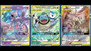 Not A BLASTOISE & PIPLUP Tag GX Deck, But A POWERFUL Water GX BOX