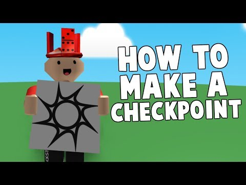 How To Make A Checkpoints Youtube