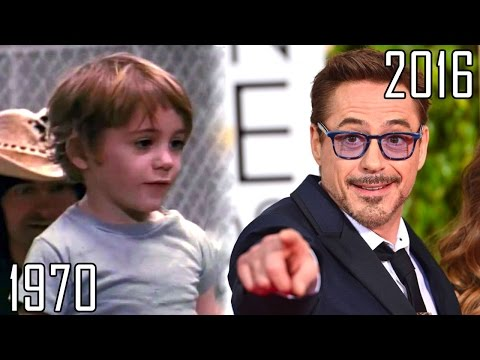 Robert Downey Jr.(1970-2016) all movies list from 1970! How much has changed?Before and Now! IronMan