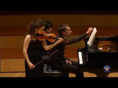 Alma Olite and Denis Lossev play Prokofiev (Sonata nº 2 op. 94bis - II. Scherzo).mp4