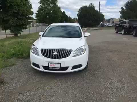 2017 Buick Verano Mills Motors Buick Gmc Fwd Summit White Oshawa On