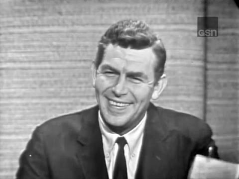 What's My Line? - Andy Griffith; Steve Allen [panel] (Oct 31, 1965) [W/ COMMERCIALS]