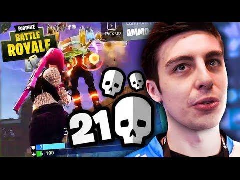 INSANE 21 KILL GAME - FORTNITE BATTLE ROYALE