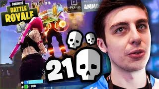 INSANE 21 KILL GAME - FORTNITE BATTLE ROYALE