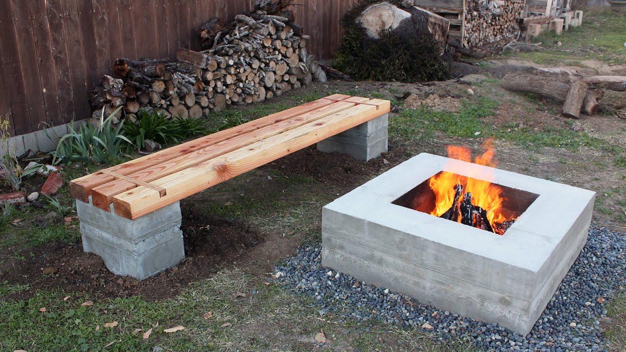 un banc pour votre jardin la fabrique diy
