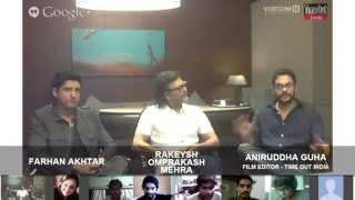 Hangout with Farhan Akhtar and Rakeysh Omprakash Mehra | Bhaag Milkha Bhaag | Part 1