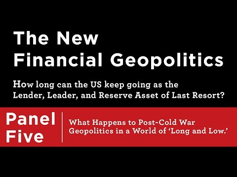 The New Financial Geopolitics: Post-Cold War Geopolitics in