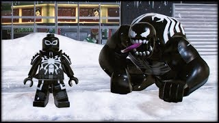 LEGO Marvel Superheroes 2 - ALL Versions of Venom! Venom 2099, Ultimate Venom, Agent Venom & More!