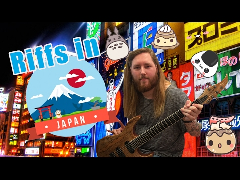 Guitar Shopping in Osaka Japan ESP CUSTOM SHOP!??