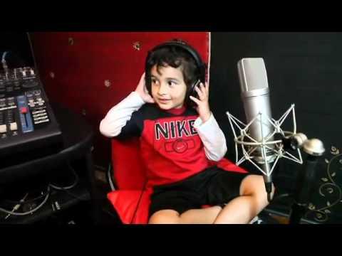 Sonu Nigam's son Nevaan - singing Why this Kolaveri di.