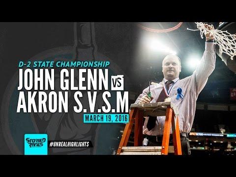 HS Basketball | John Glenn vs St. Vincent-St. Mary [STATE CHAMPIONSHIP] [3/19/16]