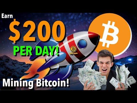 Best Bitcoin Mining Machine 200$ Per Day That Work In 2020✔✔😉🤑🤑