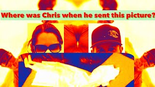 *Nk looked up Chris 9 months before they talked*~*Where was Chris when he sent the doll picture*
