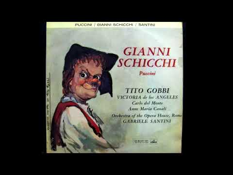 Gianni Schicchi; Gobbi, De los Ángeles, Del Monte, Canali & Santini; 1959