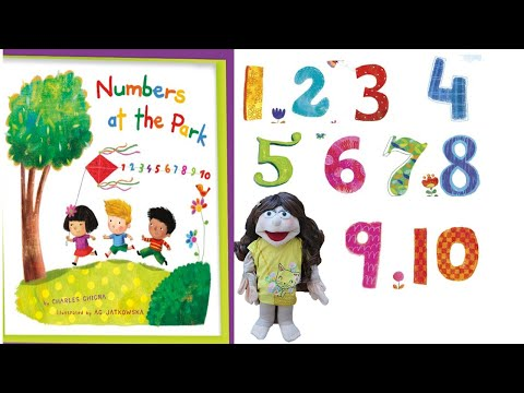 Numbers at the Park (My Little School House) by Charles Ghigna, illustrated by  Ag Jatkowska.