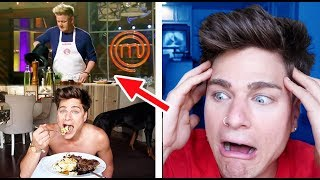 I Tried Following A Gordon Ramsay Cooking Tutorial *FAIL*
