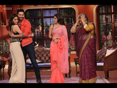 The Kapil Sharma Show _ Varun Dhawan And Alia Bhatt || Holi special