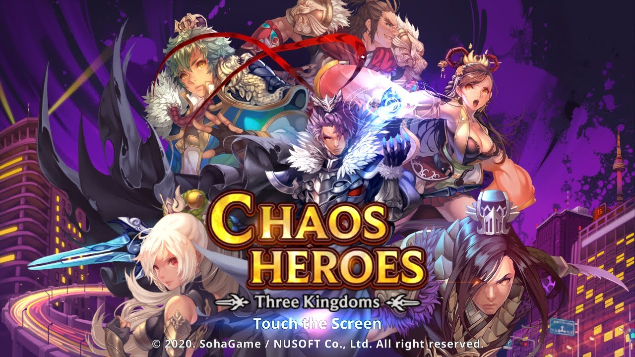 Download Chaos Heroes : Three Kingdoms [ Android APK iOS ] Gameplay