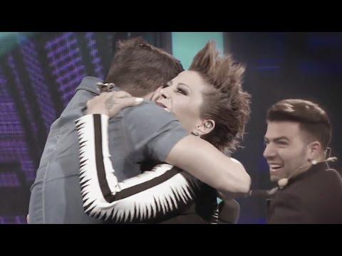Jencarlos con Paloma y hasta Alejandra Guzmán, ¡besos por todos lados en Va Por Ti!