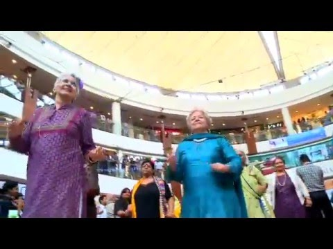 Flash Mob by our Seniors on International Women's Day at Select CITYWALK, Saket, New Delhi