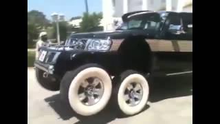 6  ти колесный джип