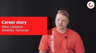 Career story: Mikko Leppänen, Reliability Technician