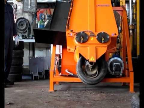 Iris-Mec SR-series wheel press