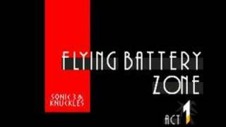 Sonic & Knuckles Music: Flying Battery Zone Act 1