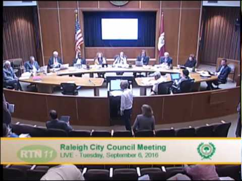 Raleigh City Council - New Bern - Edenton NCOD Text Change