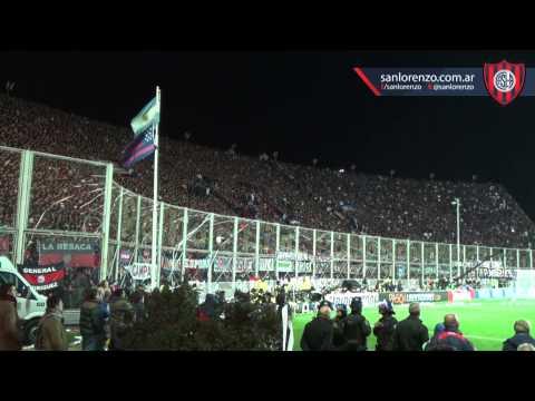 San Lorenzo CAMPEÓN DE AMÉRICA. Gol de Ortigoza