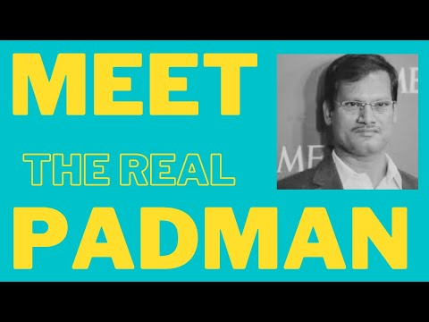 A. Muruganantham: Made In India Search- Make Things Better Make Better Things