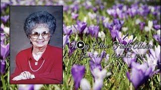 Mary Ellen Abshire's Keepsake Video