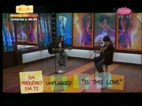 Tose Proeski R.I.P. - Is This Love (Whitesnake)