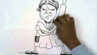 How to Draw an Angry Grandma