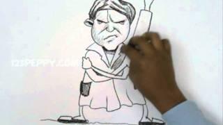 How to Draw an Angry Grandma