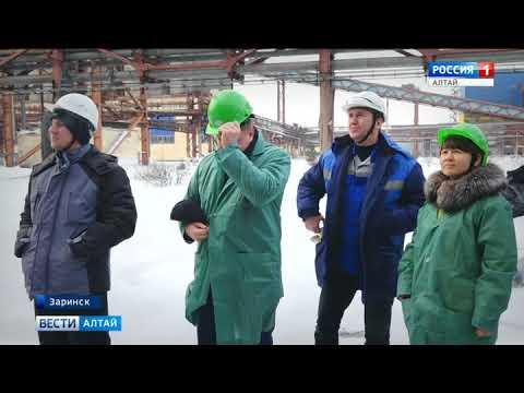 В Заринске у студентов политехнического техникума появился учебный полигон