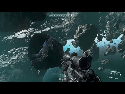 Awesome Stealth Mission in Space from Call of Duty Infinity Warfare FPS on PC